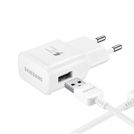 CARGADOR SAMSUNG+CABLE V8 FAST CHARGING