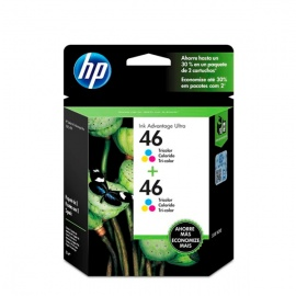 TINTA HP 46 COLOR X2