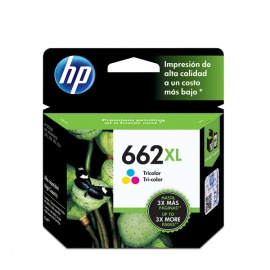 TINTA HP 662 XL COLOR