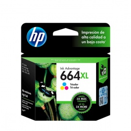 TINTA HP 664 XL COLOR