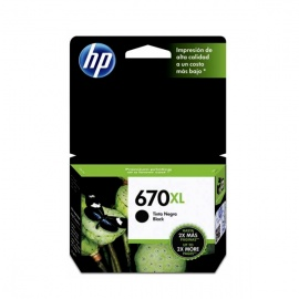 TINTA HP 670 XL NEGRO