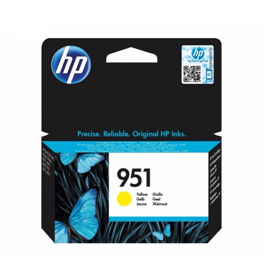 TINTA HP 951 AMARILLO
