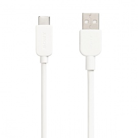 CABLE SONY USB A TIPO C BLANCO (CP-AC100/W)