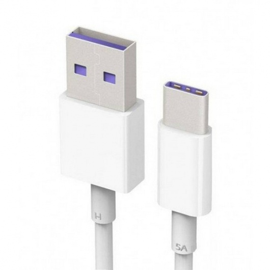 CABLE HUAWEI USB TIPO-C BLANCO (AP71)