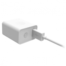 CARGADOR MOTOROLA + MICRO USB TURBO POWER 10W BLANCO