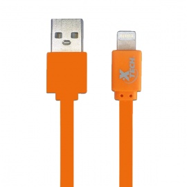 CABLE XTECH LIGHTNING USB 1M