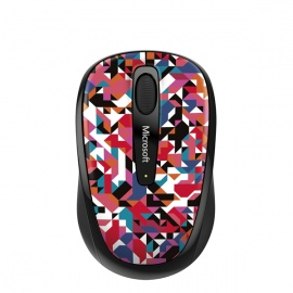 MOUSE MICROSOFT MOBILE 3500 GEOMETRIC