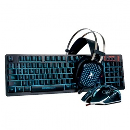 TECLADO XBLADE + MOUSE + AUDIFONO ASSASSIN KMH408