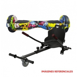 """COMBO SCOOTER ELÉCTRICO 6.5"""" + HOVERKART ID"""