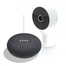 COMBO SEGURIDAD SMART (CAMARA NEXXT + GOOGLE HOME MINI)