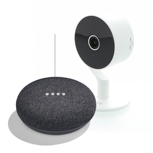 COMBO SMART HOME (CAMARA NEXXT + GOOGLE HOME MINI)