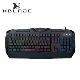 TECLADO XBLADE GAMING REAPER K509 USB BLACK MULTICOLOR