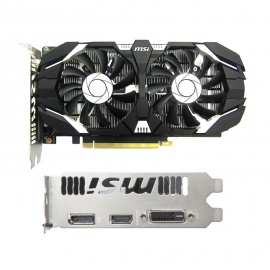 TARJETA DE VIDEO MSI 2GB GTX1050 CC DDR5