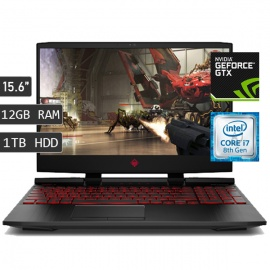 LAPTOP HP OMEN 15-DC0005LA / I7-8750H