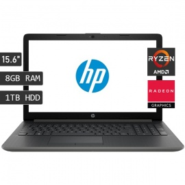LAPTOP HP 15-DB0007LA AMD R3 2200U
