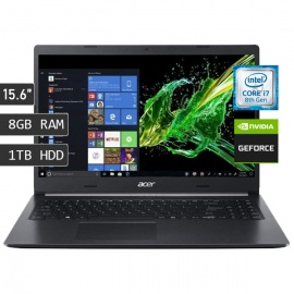 LAPTOP ACER A515-54G-751T / I7-8565U / RAM 8GB / DISCO 1TB / VIDEO 2GB / 15.6""