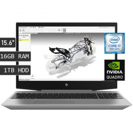 LAPTOP HP ZBOOK 15V G5 I7-9750H