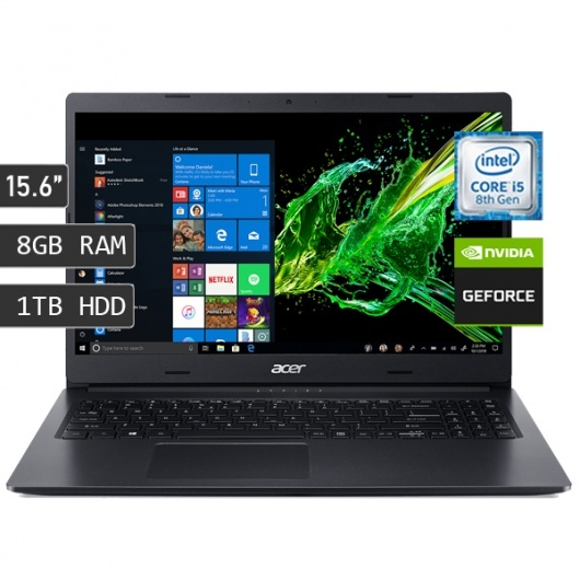 LAPTOP ACER ASPIRE A315-55G-51S5 / I5-8565U