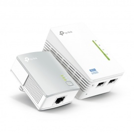 ADAPTADOR TP-LINK WPA4220 KIT POWER LINE