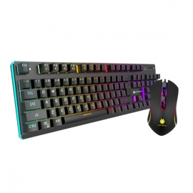 TECLADO ANTRYX + MOUSE CHROME STORM GC-2100
