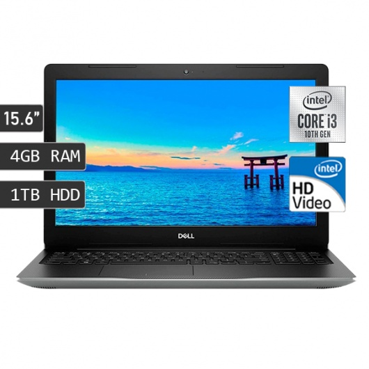 LAPTOP DELL INSPIRON 3593 I3-1005G1/4GB/1TB/FREEDOS