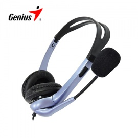 AUDIFONO GENIUS HS-04S NC P/NOTEBOOK
