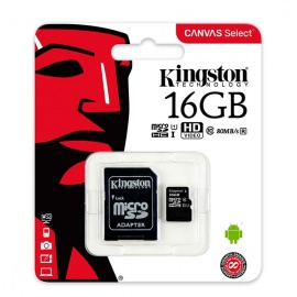 MEMORIA KINGSTON MICRO SD 16GB CLASE 10