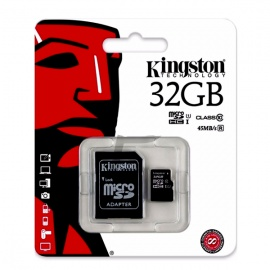MEMORIA KINGSTON MICRO SD 32GB CLASE 10