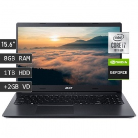 "LAPTOP ACER A315-55G-70WG I7-10510U/8GB/1TB/V2GB/15.6""/FREEDOS"