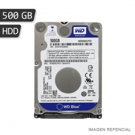 DISCO DURO WD 500GB SATA3 5400 BLUE P/LAPTOP