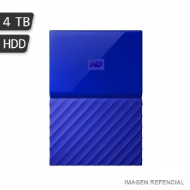 DISCO DURO EXT WD MY PASSPORT ULTRA 4TB