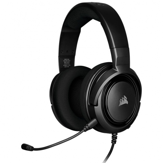 AUDIFONOS CORSAIR HS35 CARBON GAMING