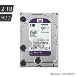 DISCO DURO WD 2TB PURPLE 64MB SATA 6GB