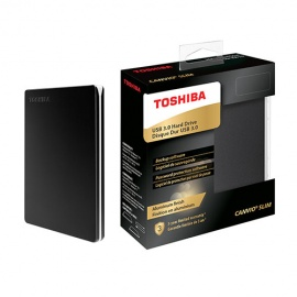 DISCO DURO EXT TOSHIBA CANVIO SLIM 1TB