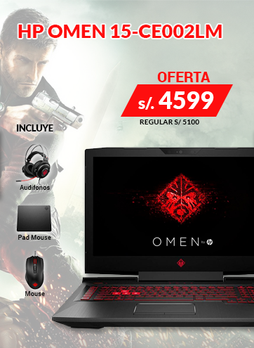 Laptop Gaming Omen 15-CE002LM